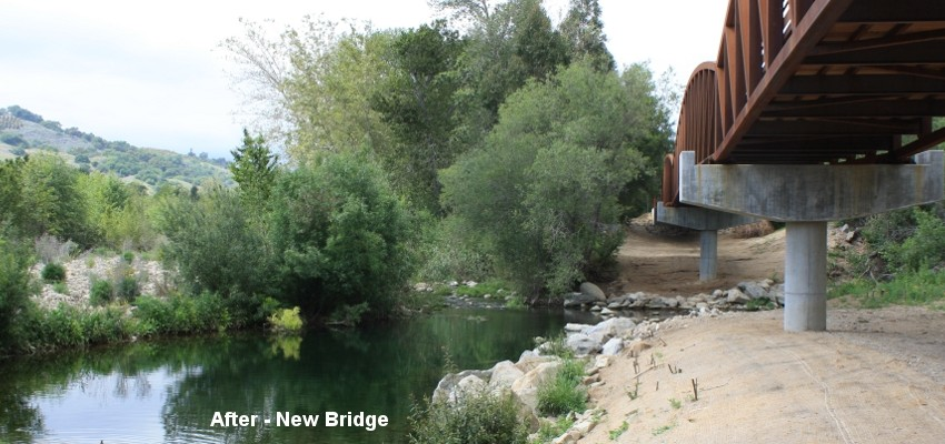 Ojai Valley Trail Bridge 2
