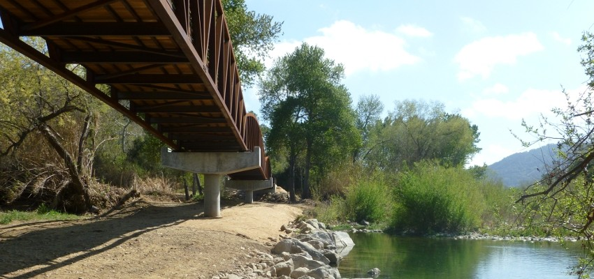 Ojai Valley Trail Bridge 3
